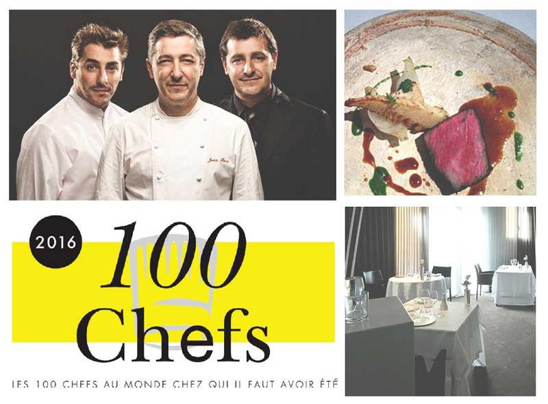 Los 100 mejores chefs del mundo según Le Chef revista