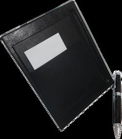 Porta Notas - Negro