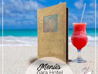 Menús para Piscinas y Pool Bar