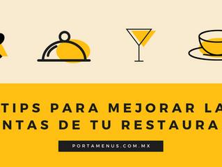 5 tips para mejorar las ventas de tu restaurant.
