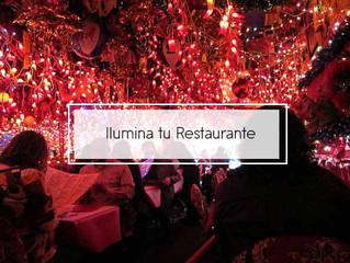 Ideas de última hora:  Esta Navidad ilumina tu Restaurante
