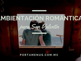 Una ambientación romántica para tu restaurant este San Valentín