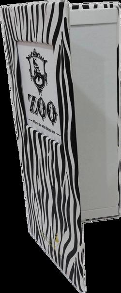 Portamenú Riviera Zoo Perspectiva