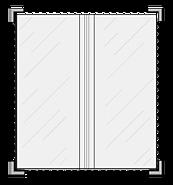 Portamenú Vintage 2 Paneles