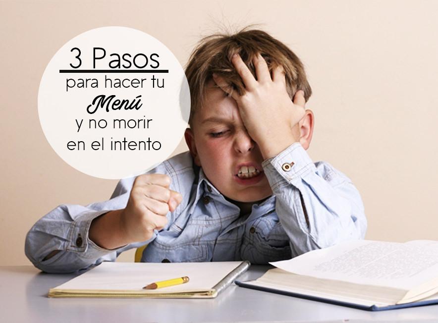 3 Pasos para hacer tu Menú y no morir en el intento - Portamenús México