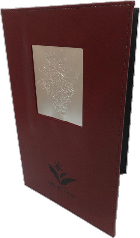 Portamenú Bordeaux - BDF Uvas