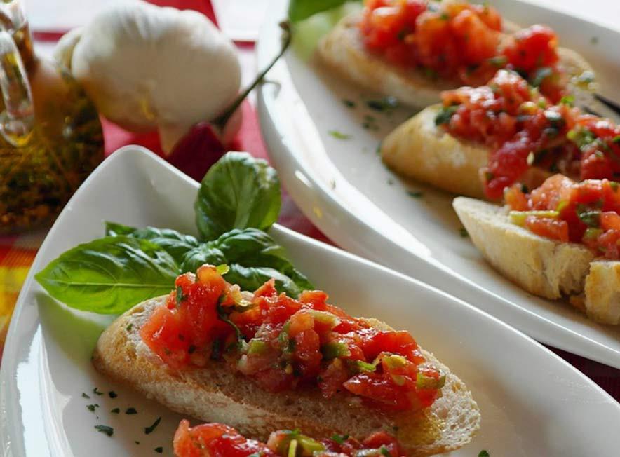 fotografía de alimentos portamenús