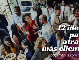 12 ideas para eventos que traerán más clientes a tu Restaurant