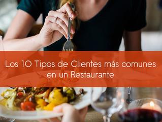 Los 10 Tipos de Clientes más comunes en un Restaurante