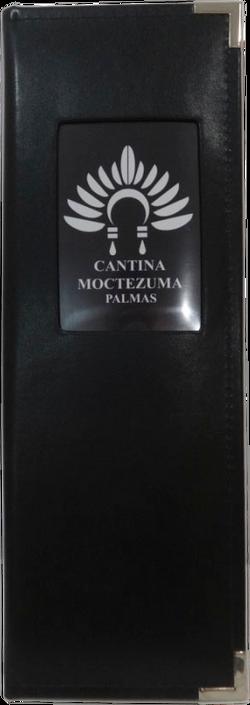 Portamenú Vintage - Moctezuma