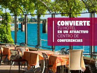 Convierte tu Hotel en un Atractivo Centro de Conferencias
