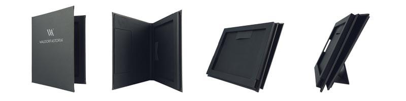 Porta ipad y porta tablets para cubrir portamenú