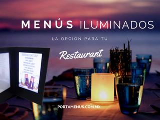 Lleva tu restaurant a la siguiente generación con un menú iluminado