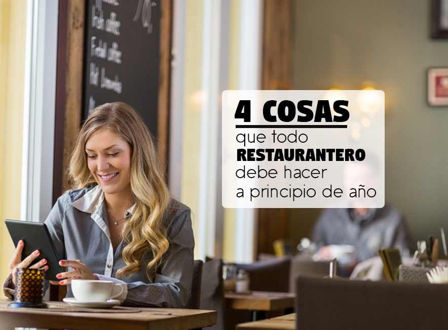 4 Cosas que todo restaurantero debe hacer a principio de año - Porta menú