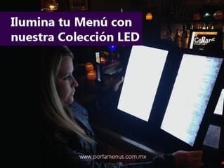 Ilumina tu Menú con nuestra colección LED