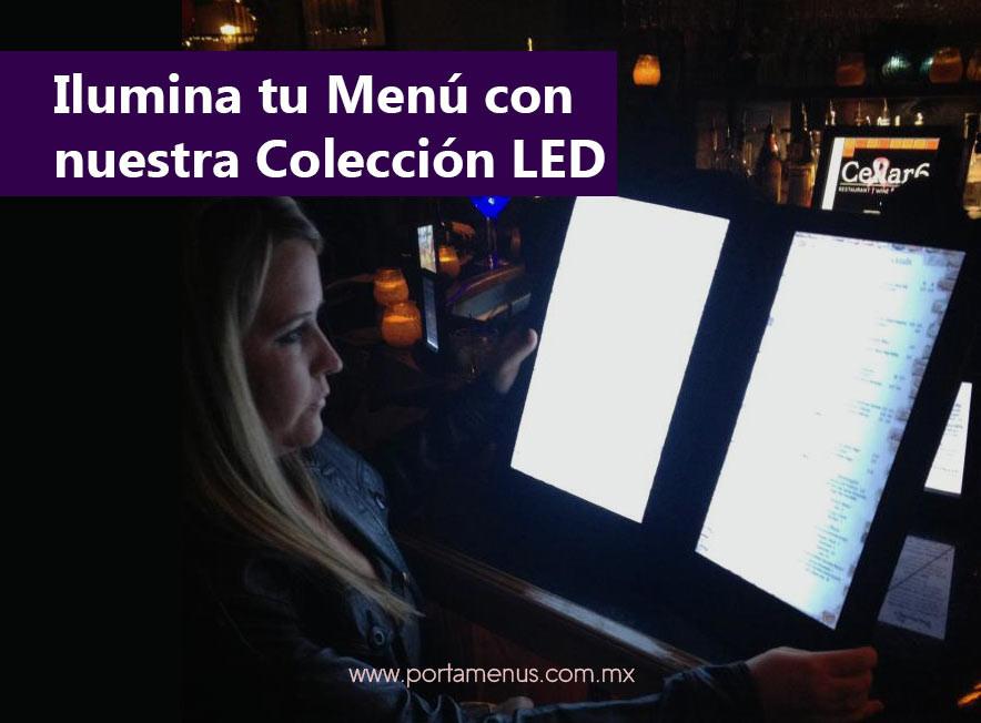 ilumina tu menú con nuestra colección de LED