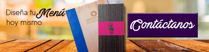 Diseño de Cartas de restaurante México