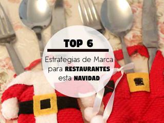 Top 6 de Estrategias de Marca para Restaurantes esta Navidad