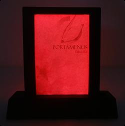 Exhibidor LED - Rojo