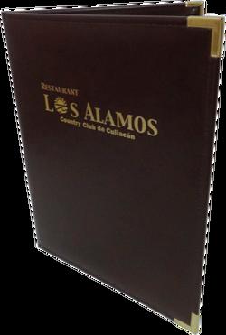 Portamenú Vintage - Los Alamos