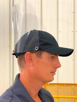 Protector Facial con Gorra