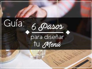 Guía de 6 pasos para diseñar tu menú
