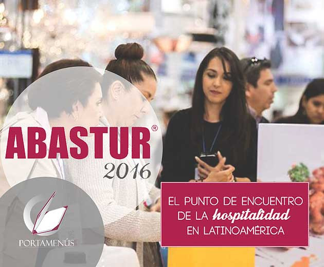 Abastur 2016 México Portamenu