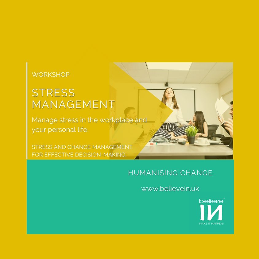 Stress Management: How to deal with stress like an ace in the workplace and in your personal life?