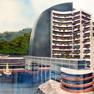 Anteproyecto Hotel Maihue, 1997