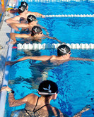 Morning swim at the National Training Ce