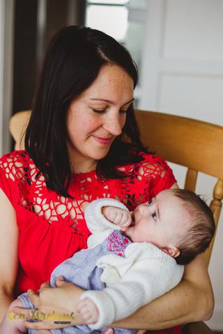 Baby Poppy joins big sister Rosie