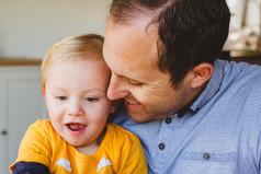 Arthur and dad Jordan