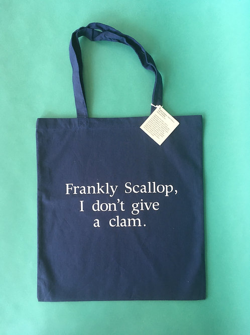 Frankly Scallop tote by Imin Yeh