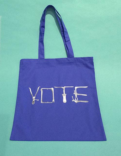 Vote tote bag by Susan Abramson