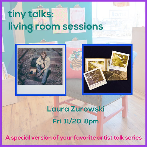 $5 Ticket for Laura Zurowski Tiny Talk