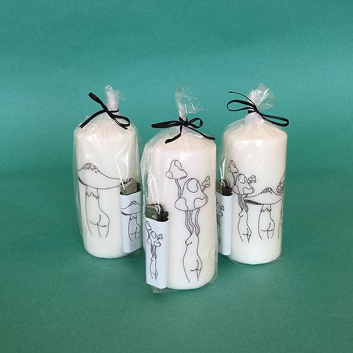 Candle and Lighter sets by Jegan Mones
