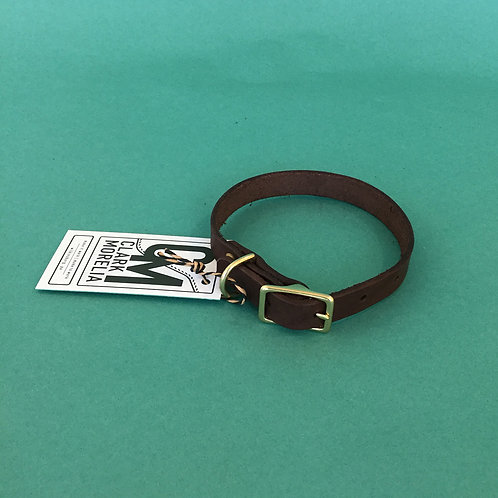Leather Dog Collars by Clark Morelia