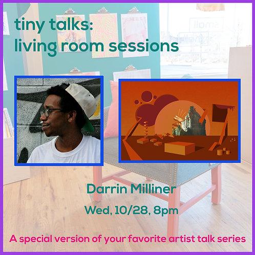 $10 Ticket for Darrin Milliner Tiny Talk