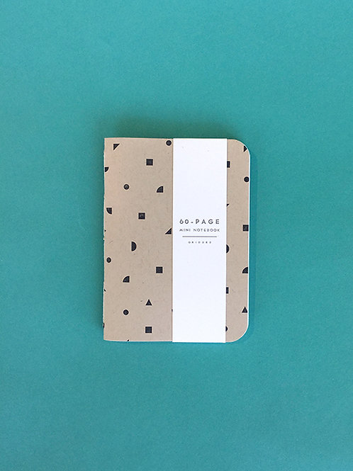Small Handbound Letterpress Notebooks by Gingerly Press