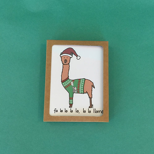 10-Pack Animal Holiday Cards by Paint by Dumbers