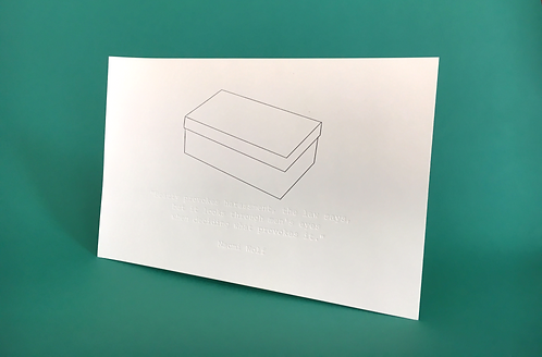 Letterpress Print by Sarika Goulatia