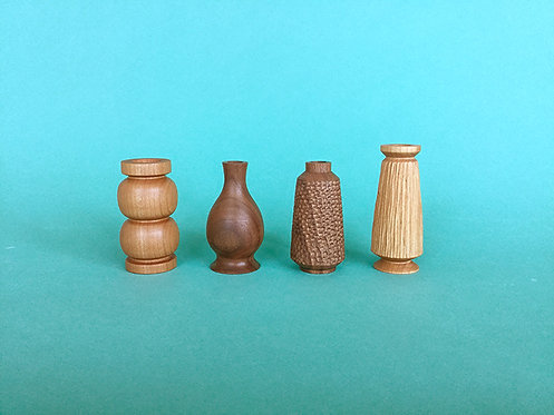 Small Vases by Hanna Dausch