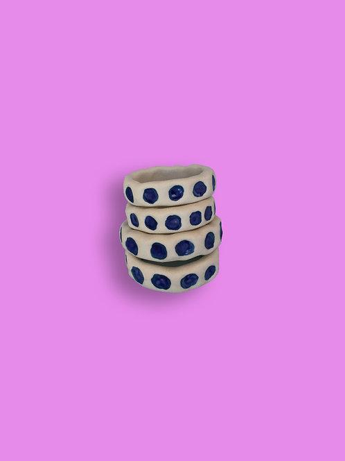 Napkin rings by Ali Karsh