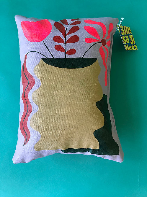 Full/Spill Pillow by Ellissa Schatz