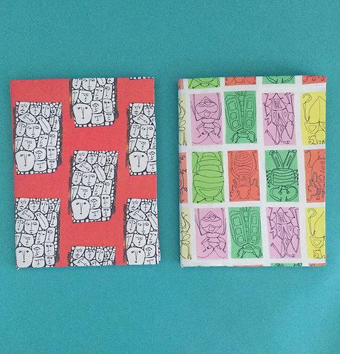 Notebooks by Kirsten Ervin