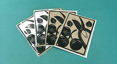 Assorted Cards by Winter Pickle Press