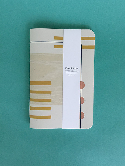 Letterpress Journal by Gingerly Press