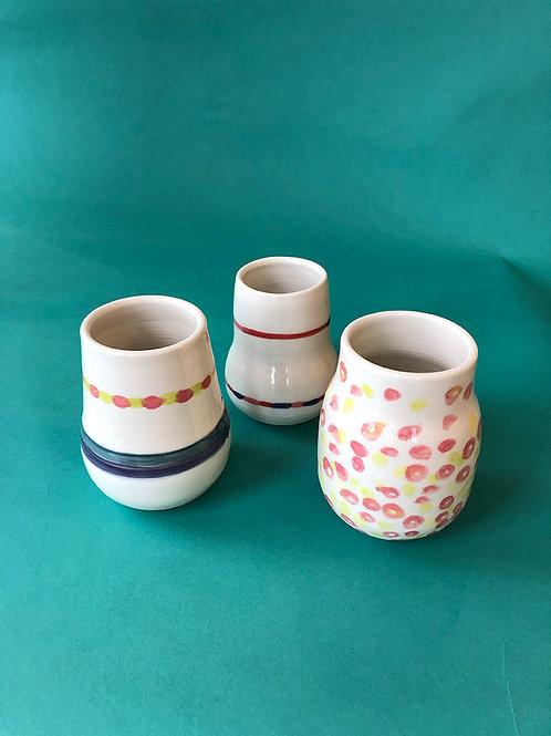 Porcelain vases by Ali Karsh