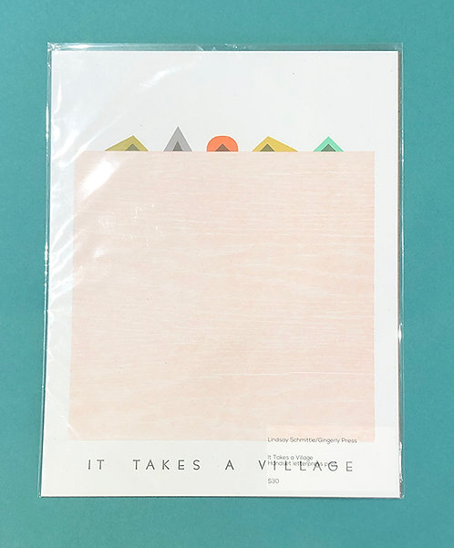 It Takes a Village by Gingerly Press