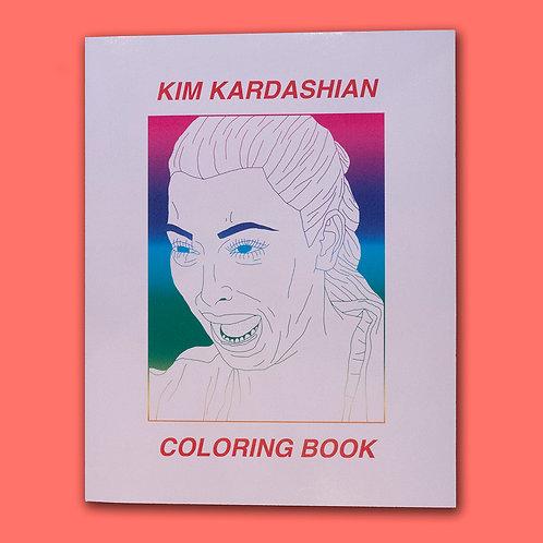 Kim Kardashian Coloring Book by Christina Lee